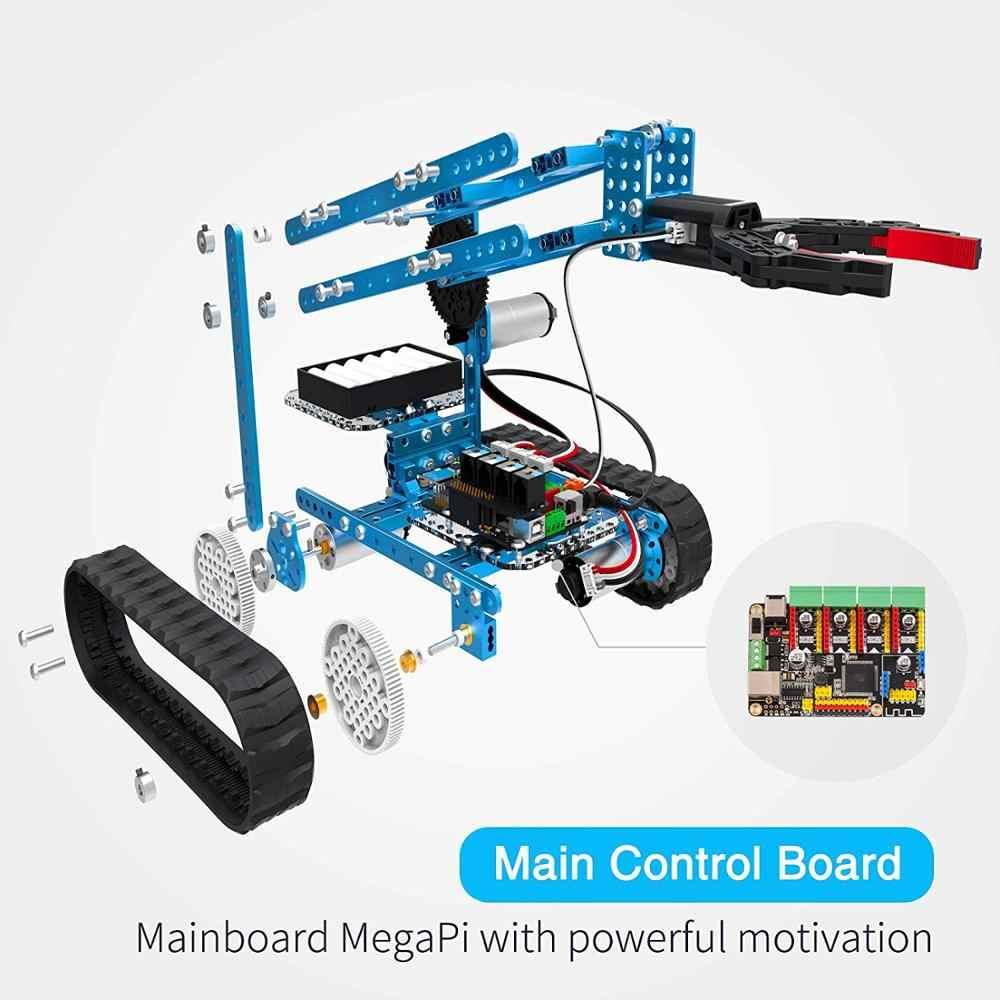 Makeblock DIY Ultimate Robot kiti-üstün kalite-10-in-1 Robot saplı eğitim-MegaPi-Scratch 2.0 çocuklar için, yaş 14