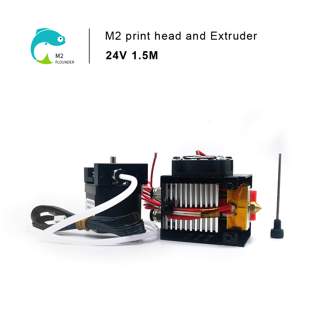 ZONESTAR 24V 3D Printer Upgrade Kit Dual Three Extruder Optional 2(3)-IN-1(2)-OUT Mix Color HOTEND Extrusion Feeder
