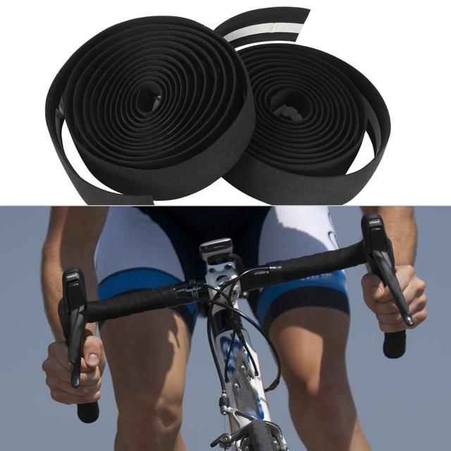 2Pcs//Pair Bicycle Bike Handlebar Wrap Vibration Bar Tape Grip Belt Road Cycling