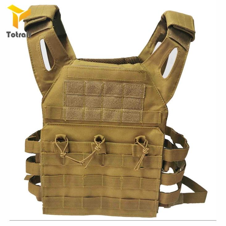 Caça Airsoft Paintball Molle JPC Tactical Vest Molle Colete Ao Ar Livre Colete Com Peito Colete Transportadora Placa Protetora Equ Militar