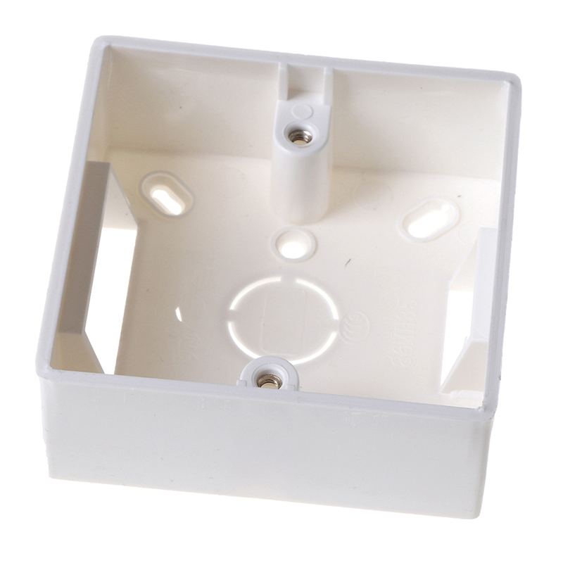 ZLinKJ 1Pc 86 Type Switch Socket Base Outfit Junction Box Wall Switch Socket Box Hot Selling