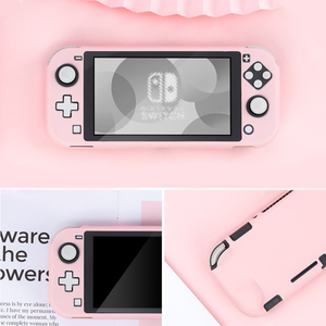 Image 2 - For Nintendo Switch Lite Case Shell Pink PC Hard Cover Back Grip Shell NS Mini Games Cover For Nintendo Switch Lite Accessories