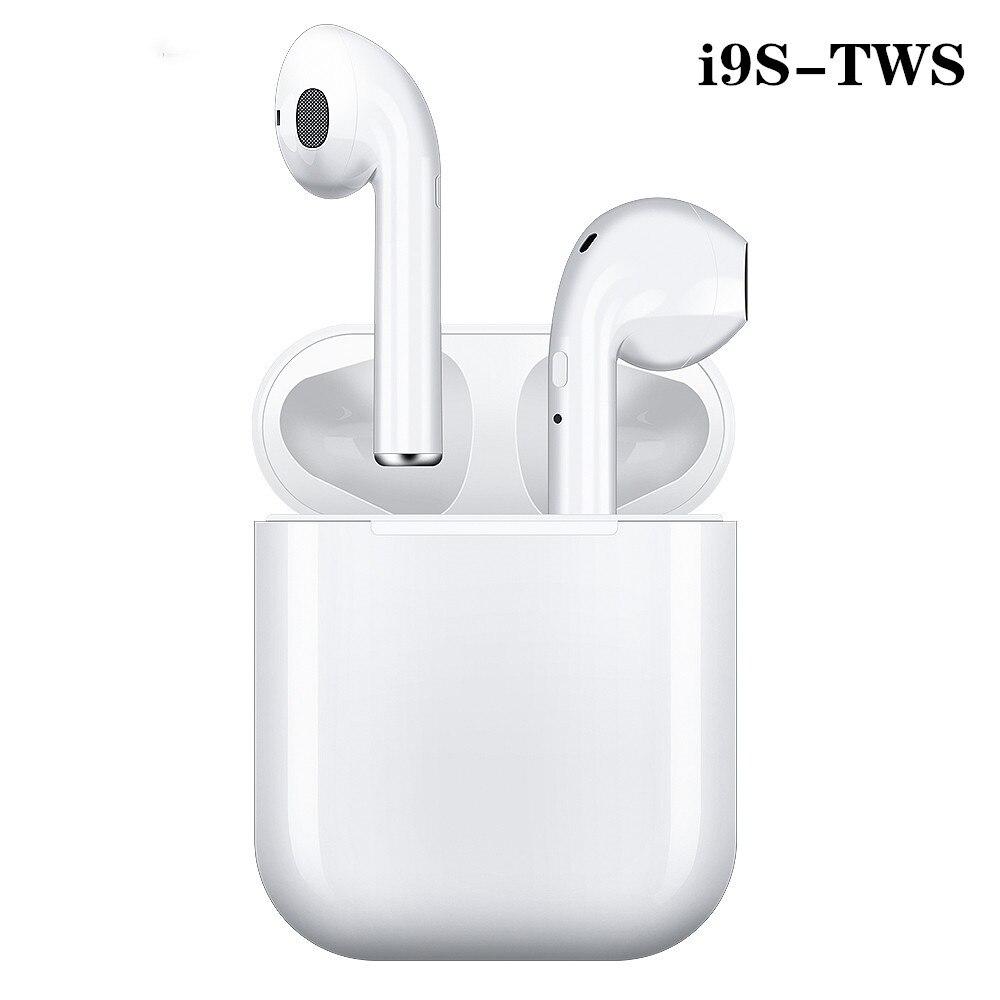 I9s Tws Headphone Wireless Bluetooth 5.0 Earphone Mini Earbuds With Mic Charging Box Sport Headset For Xiaomi LG All Smart Phone