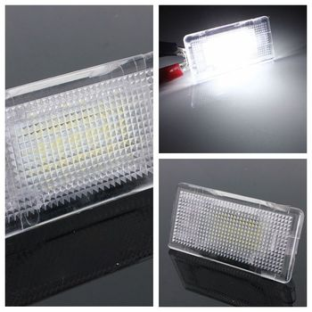 12V Footwell Luggage Trunk Boot Glove Box LED Light For BMW E36 E38 E39 E46 E60 E60 E61 E65 E66 E82 E88 E90 E90 E91 E92 E93 image