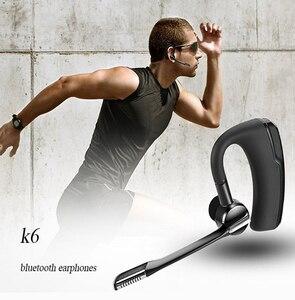 Image 5 - Auriculares K6 K10 con Bluetooth, auriculares inalámbricos con reducción de ruido HD, auriculares de negocios adecuados para todos los teléfonos inteligentes