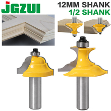 "2pc 1/2""Shank 12mm shankWainscoting Roman Ogee & Pedestal Router Bit C3 Carbide Tipped Wood Cutting Tool woodworking router bits"