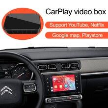 Car Apple CarPlay YouTube Netflix Video Bluetooth GPS Navigation AI Box,for Citroen C2 C3 C4 C5 Aircross Cactus Berlingo