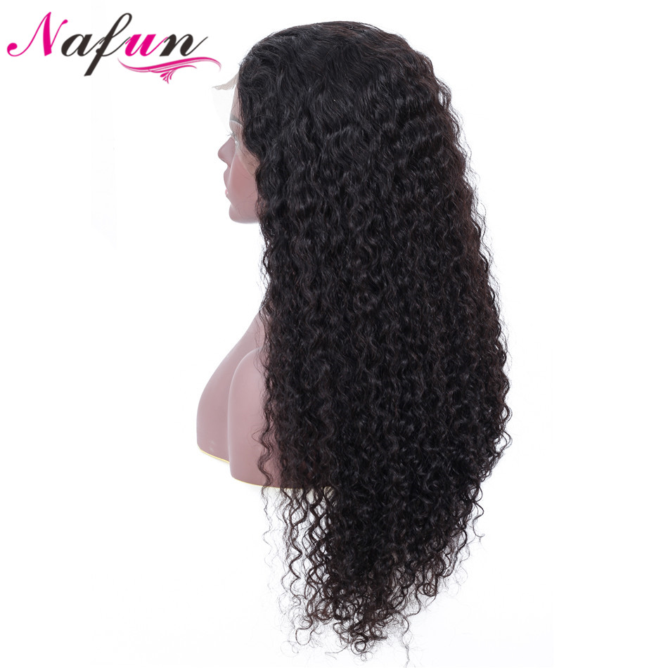 Curly Human Hair Wig Lace Front Human Hair Wig For Women Brazilian Human Hair Remy Pre Plucked 13x4 Lace Wig 150% Density