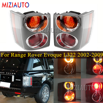 Rear Tail lights For Land Rover Range Rover For Vogue L322 2002-2009 Tail Stop Brake Lamp Car Accessories Rear turn signal light rear air suspension spring bag for range rover vogue l322 suspension bag rkb500080 rkb500240 rkb000151 rkb500082 rkb000150