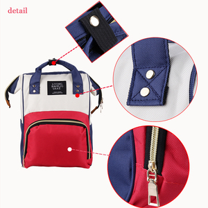 Image 4 - Large Capacity Mummy Maternity Nappy Bag Outdoor Moms Backpack Nursing Bag Mummy Travel Backpack Zippers Baby Care Bag