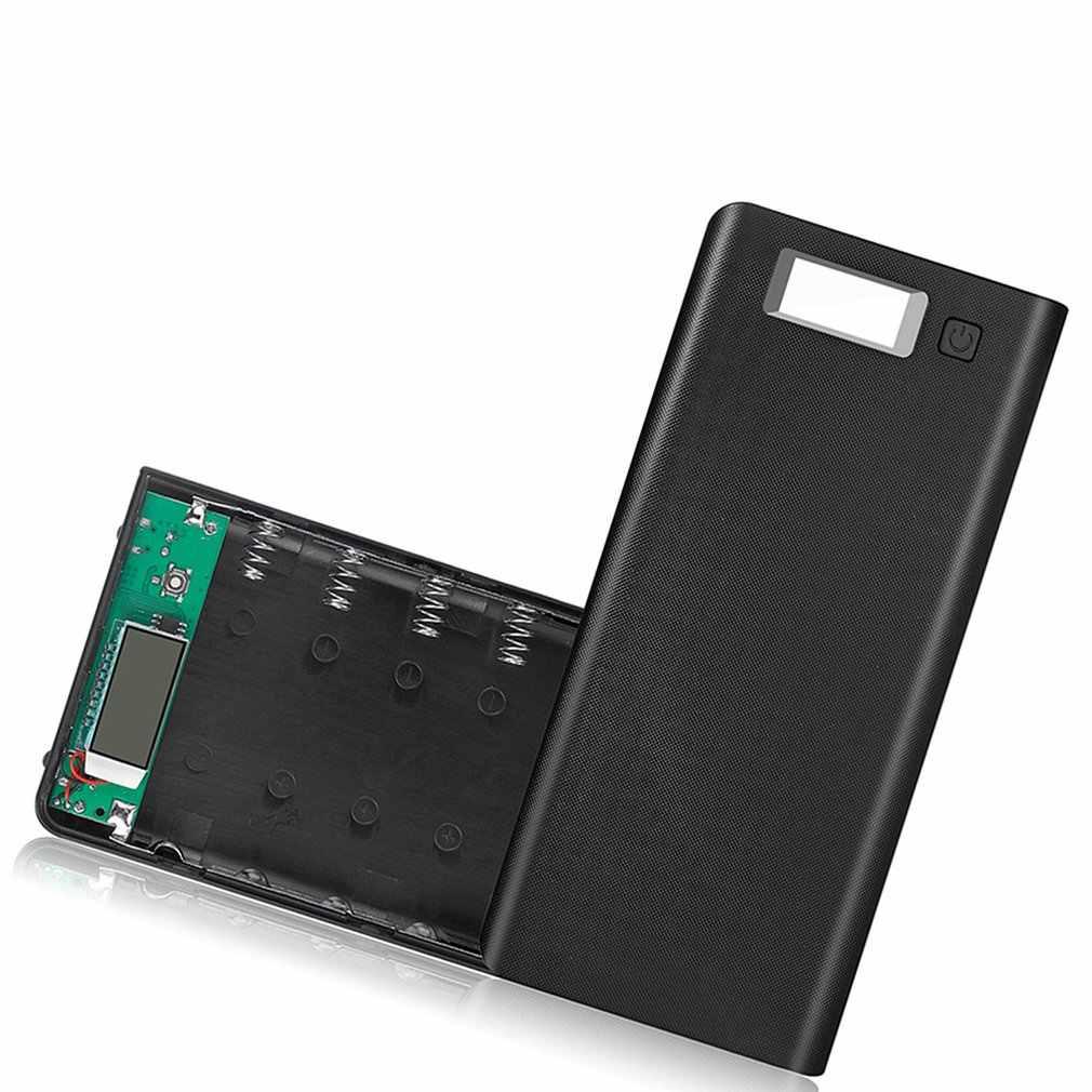 8*18650 battery Portable Power Bank Case Kit Digital Display Welding-Free 8*18650 Mobile Power Box Kit Portable Battery Shell