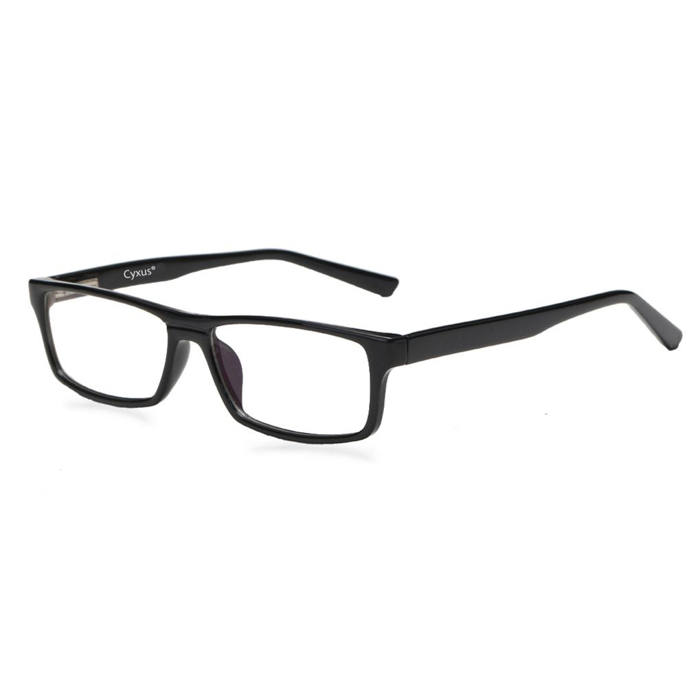 Cyxus Blue Light Blocking Glasses Men/Women Spring Hing Computer Glasses Anti Eye Eyestrain Clear Lenses Unisex Eyeglasses 8323