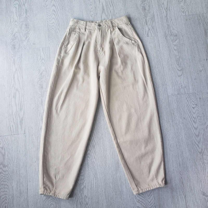 Toppies Denim Hosen Frauen Hohe Taille Pluderhosen 2020 Lose Jeans Plus Größe Hosen Frauen Casual Streetwear Pantalon Femme