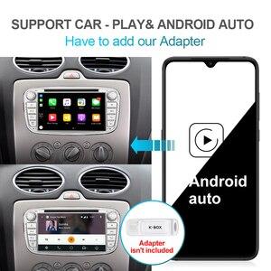 Image 5 - Isudar PX6 2 Din Android 10 Auto Radio Für FORD/Focus/S MAX/Mondeo/C MAX/Galaxy auto Multimedia Player Video GPS USB DVR Kamera FM