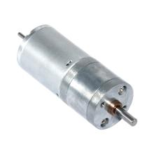 цена на DC 12V 24V Gear Motor 10-600 RPM DC Brush Gear Motor Lengthening Shaft Installable Encoder 25GA370D Geared Motor Electric Motor