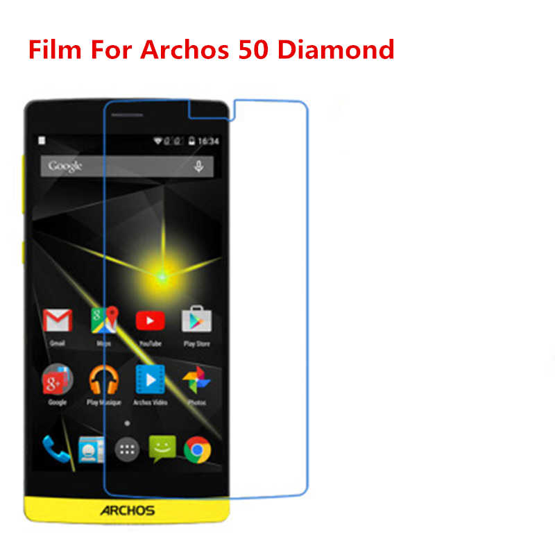 1/2/5/10 Pcs Ultra Thin Klar HD LCD Screen Protector Film Mit Reinigungs Tuch Film für Archos 50 Diamant.