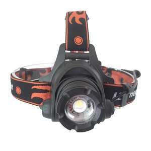 Image 1 - 울트라 브라이트 5000 루멘 led 전조등 xm l2 u2 방수 충전식 헤드 라이트 정면 손전등 zoomable 헤드 램프 토치
