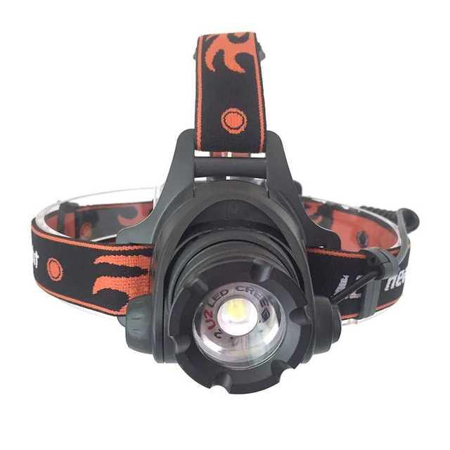 울트라 브라이트 5000 루멘 led 전조등 xm l2 u2 방수 충전식 헤드 라이트 정면 손전등 zoomable 헤드 램프 토치