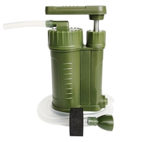 Field Emergency Wild Drink Single Soldier Water Purifier Portable Outdoor Filter Water Purifier Camping|Outdoor Tools| |  -