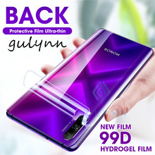 99D Full Cover Real Hydrogel Film For Huawei P20 P30 Mate 30 Pro Back Screen Protector For Honor 9X 20 20i Lite 20Pro Soft Film(China)