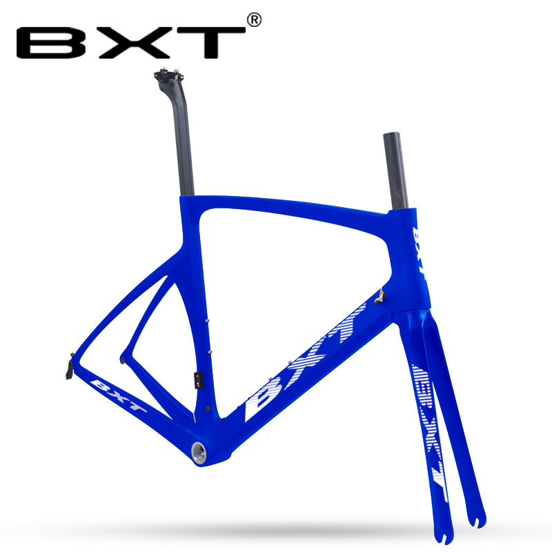 Road Bike Frame Carbon Super Light Di2 Machine Carbon Road Bicycle Frame With Fork Seatpost Size 49/52/54/56cm Racing Frameset