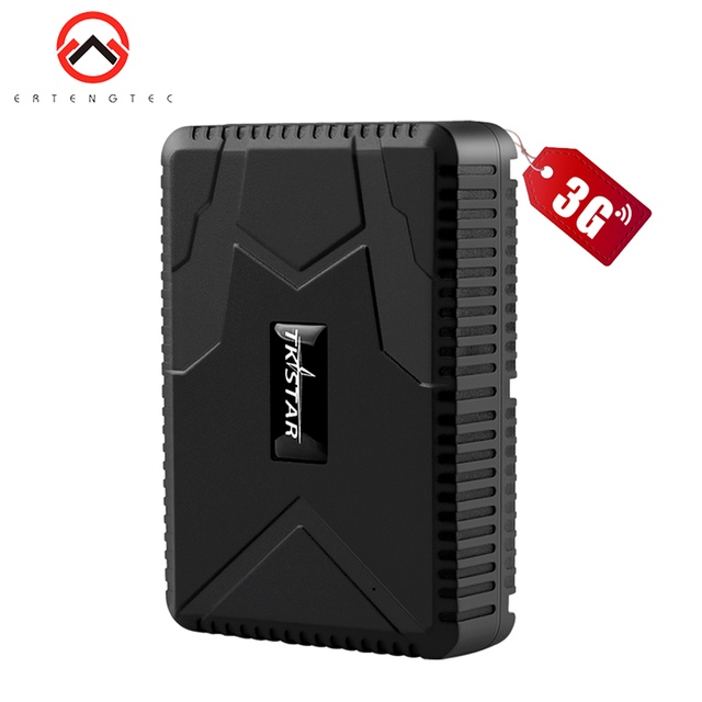 TKSTAR rastreador GPS 3G para coche, 7800mAh, 80 días de seguimiento, alarma de caída de choque, GPS