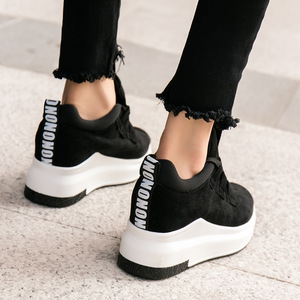 Image 3 - 2019 אביב סתיו נשים נוח פלטפורמת נעלי אישה סניקרס גבירותיי מאמני chaussure femme חיצוני לגפר נעלי