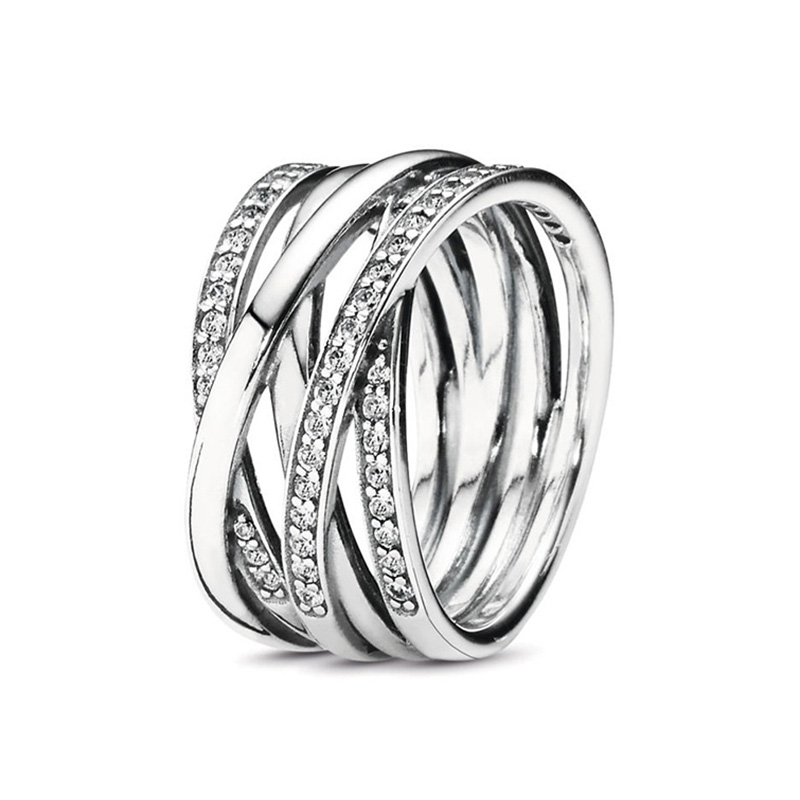 CHIELOYS New Sparkling Braided Pave Brand Ring for Women Wedding Luxury Exaggerated Big Twisted Jewelry Dropshipping Artificial Jewellery Rings Women 2ced06a52b7c24e002d45d: 7|8|9