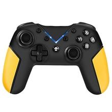Геймпад для переключателя Pro контроллер игровая консоль Nintendo PC паровой с 3,5 выходом для наушников Поддержка голосового проводного джойстика
