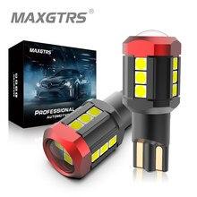 2x w16w t15 lâmpadas led canbus obc livre de erros 3030 led backup luz 921 912 w16w lâmpadas led carro lâmpada reversa branco vermelho âmbar lente