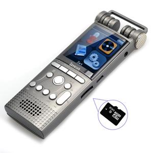 Image 5 - מקצועי קול הופעל אודיו דיגיטלי קול מקליט 16GB 8GB 32GB USB עט ללא הפסקה 100hr הקלטת PCM 1536 kbps תמיכה TF כרטיס