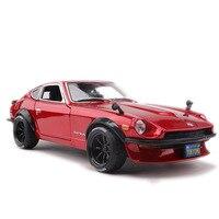 Maisto 1: 18 1971 Nissan 240Z Model Alloy Sports Car Classic Car Model Toy Gift