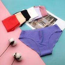 5 pçs/lote nova chegada calcinha feminina sem costura plus size náilon briefs underwear m l xl xxl 3xl 4xl 880