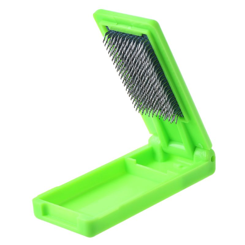 Portable folding Suede Sole Wire Cleaners Dance Shoes Cleaning Brush For Footwear K1MF