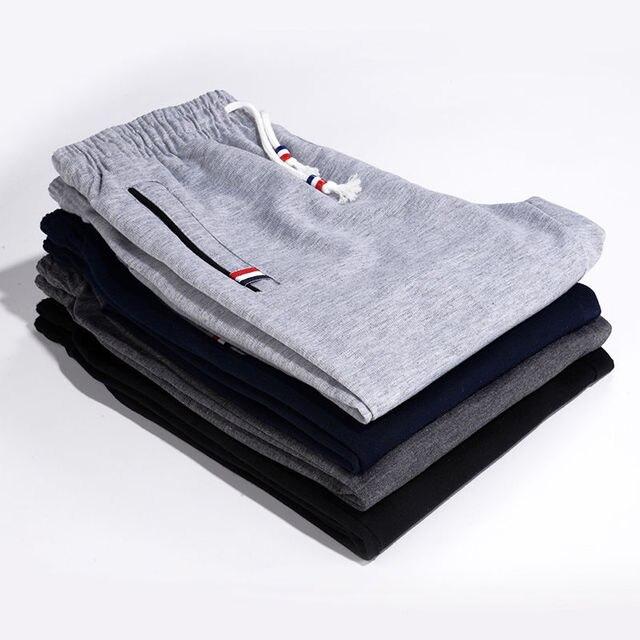 Sweatpants Plus Size Men Joggers 3