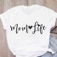 Hararuku Mama T-shirt Femme Vogue Women Short Sleeve Ulzzang Printed Mom Life tshirt Vintage Tee Top Korean Clothes
