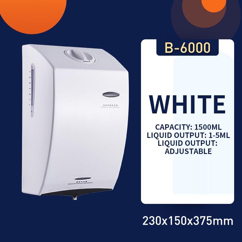 AC220V-240V Hand dryer sterilization hand cleaner Wall-mounted spray type hand disinfection sprayer Atomization Intelligent