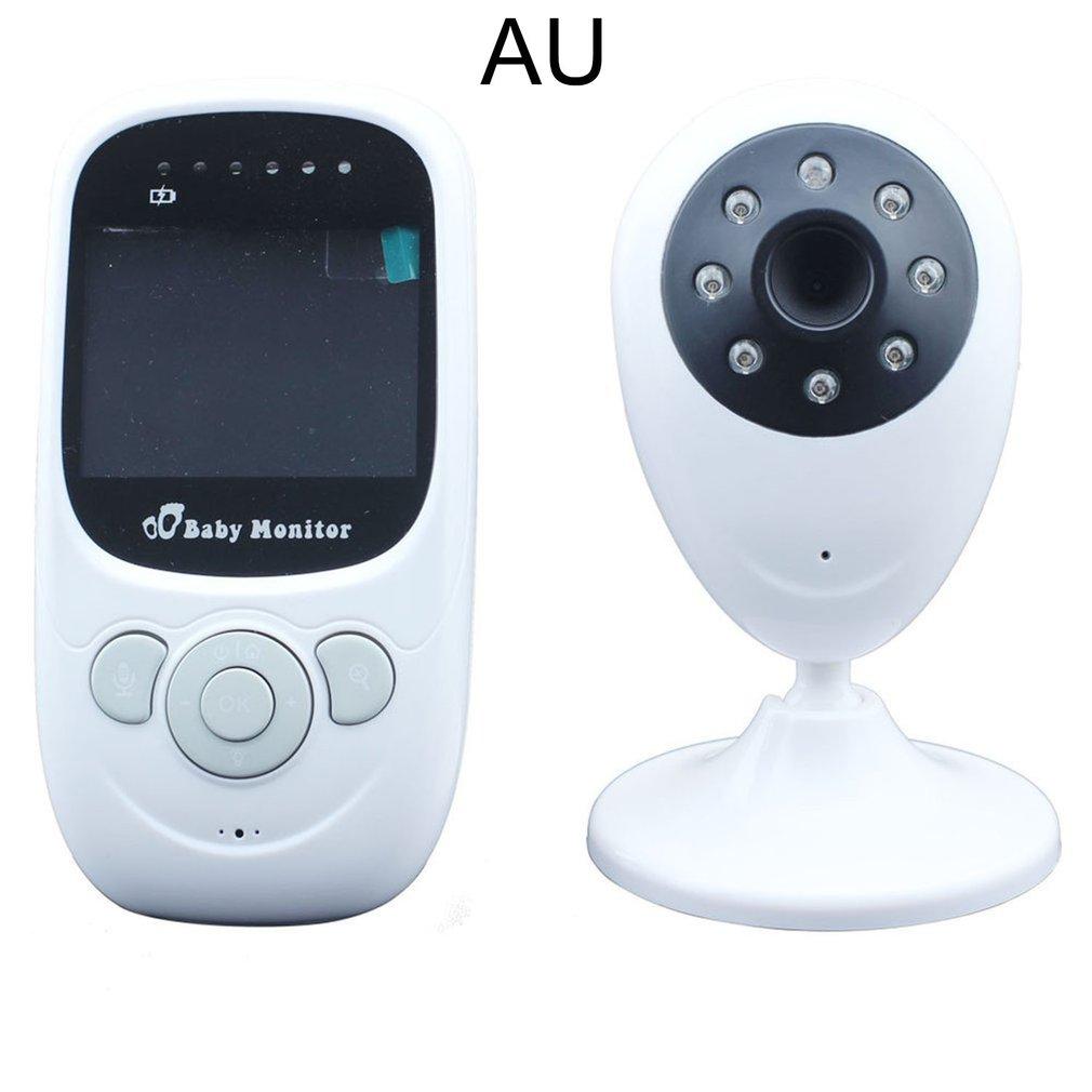 2.4 Inch Kid Monitoring Equipment With Camera Intercom Function Digital Wireless Surveillance Night Vision Temperature Sensor