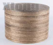 Length: 2.5Meters/Roll Thickness:0.25-0.3mm Width:15cm Natural Ebony Wood Veneer Furniture Veneer(with Nonwoven Fabric)