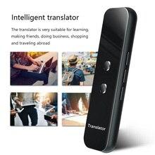 Traductor de idiomas G6, máquina de traducción inteligente, soporte de intérprete multilingüe inteligente para traducción en más de 70