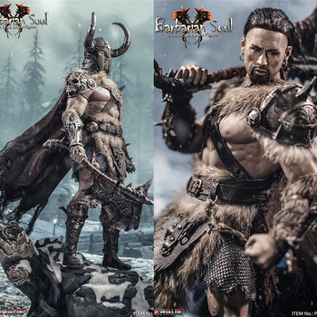 In Stock TBLeague 1/6 Collectible PL2020-167 Barbarian Soul Action Figure Set Full Set Doll Toys for Fans Gifts in stock 1 6 scale zh009 ancient roman soldier full set model action figure for fans gifts with box