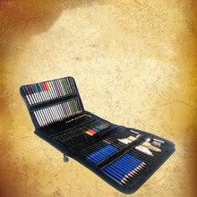 73 шт./компл. живопись на холсте Набор Prismacolor древесины Цветные карандаши коробка железная коробка Профессиональный карандаши для рисования рисунок художественной школы