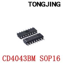 Nowy CD4043BM CD4043BM96 SOP-16 układu logika IC (2 sztuk) tanie i dobre opinie CN (pochodzenie) integrated circuit