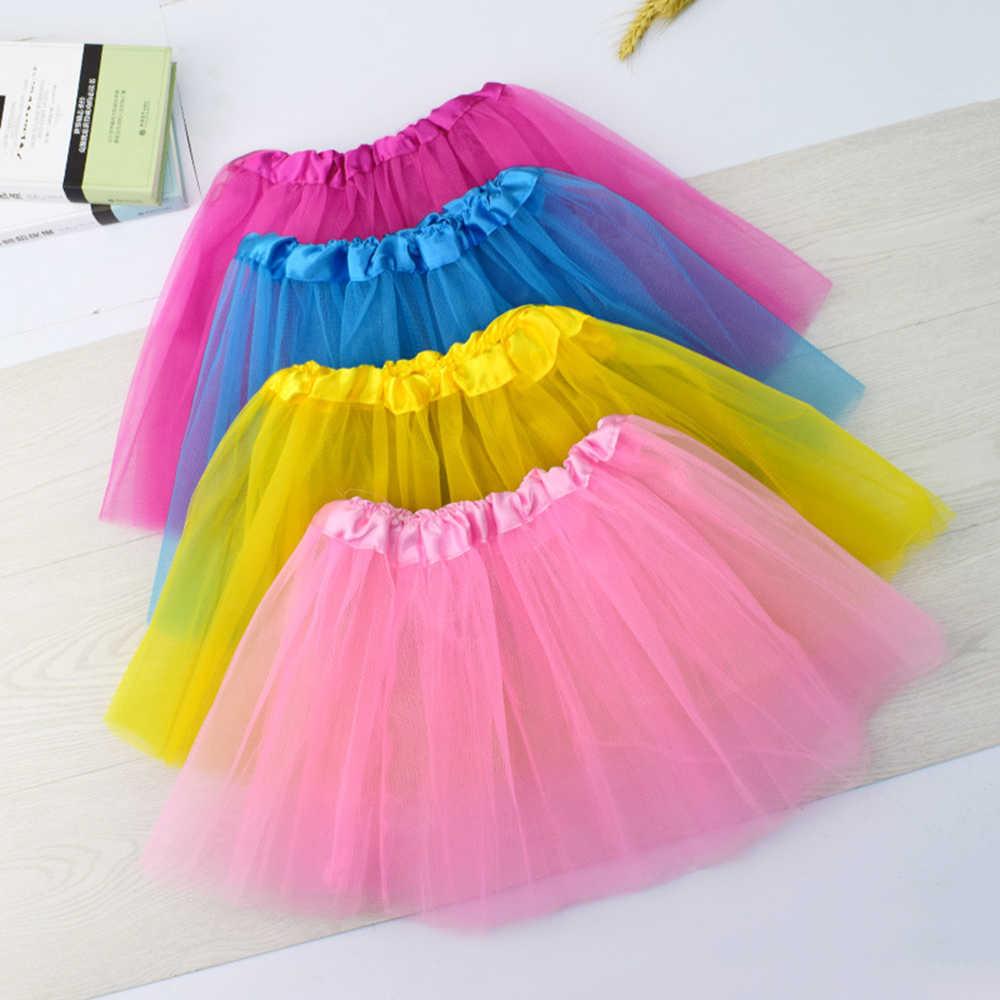 Baby Tüll Rock Mädchen Tutu Pettiskirt Kinder Neuheit Kinder Unterrock Ballett Dance Petticoat Party Minirock Kleidung Großhandel