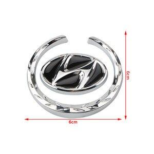 Image 3 - Araba Styling pencere yan amblem Sticker dekorasyon için Hyundai Sonata IX35 I30 Azera Elantra Accent Santa Genesis Tiburon Tucson