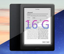 Novo kobo glo hd 300ppi reader livro e-ink ebook 16g wifi leitor hd 1448x1072 tela de toque