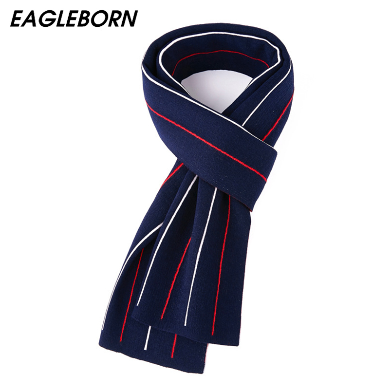 New Scarf Men Scarf 2020 Wool Scarf Stripe Long Scarf High Quality Luxury Brand Business Scarf 180*30cm Scarves Mens Pashmina