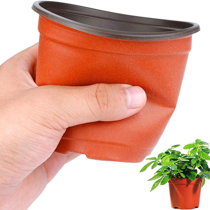 130 Pcs 10cm Plastic Plants Nursery Seed Starting Pots for Succulents Seedlings Cuttings Transplanting Home Garden Flower Decor 4
