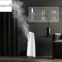 Humidificador de aire de 4L, generador de niebla purificadora, difusor ultrasónico doméstico para aromaterapia para oficina y hogar, pantalla táctil