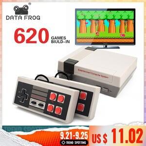 Game-Console Video-Game Data-Frog Retro 8-Bit Handheld Mini Built-In TV